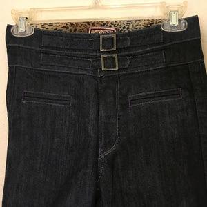 Rich & Skinny Wide Leg High Rise Jeans